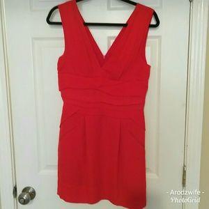Sexy BCBGeneration Red Sleeveless Mini Dress